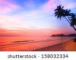 Beautiful Sunset On The Ocean ...