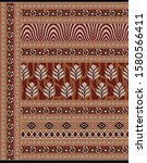 textile traditional paisley... | Shutterstock . vector #1580566411
