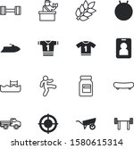 sport vector icon set such as ... | Shutterstock .eps vector #1580615314