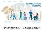 flat landing page advertising... | Shutterstock .eps vector #1580615824