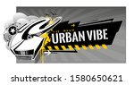 horizontal banner with abstract ... | Shutterstock .eps vector #1580650621