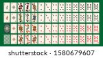 pirate style poker cards for... | Shutterstock .eps vector #1580679607