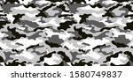 vector camouflage pattern for... | Shutterstock .eps vector #1580749837