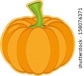 pumpkin | Shutterstock .eps vector #158076371
