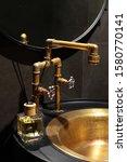 Golden  Copper Faucet Loft...