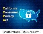 ccpa   california consumer...   Shutterstock .eps vector #1580781394