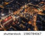 Prague  Czech Republic   Aerial ...