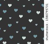 heart abstract seamless pattern.... | Shutterstock .eps vector #1580795731