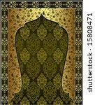 traditional antique ottoman... | Shutterstock .eps vector #15808471
