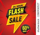 24 hour flash sale banner....   Shutterstock .eps vector #1580930527