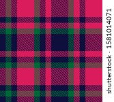 classic modern plaid tartan... | Shutterstock .eps vector #1581014071