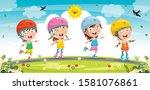 Little Kids Riding Roller Skate