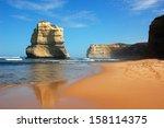 gibson steps  great ocean road  ... | Shutterstock . vector #158114375