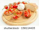 bruschetta   Shutterstock . vector #158114435