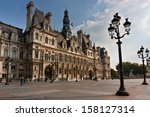 Hotel De Ville In Paris  France