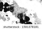 dirty art. black and white... | Shutterstock . vector #1581378181