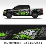 Car Wrap Decal Design Vector ...
