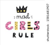 """colorful """"mad girls rule""""... 