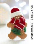 Gingerbread Cookie Man