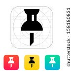 mapping pin icon. vector...
