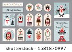 christmas big collection with... | Shutterstock .eps vector #1581870997