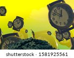 Watch. Time Keeper. Surrealism. ...