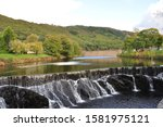 Beautiful Cwm Rheidol Lake  Dam ...