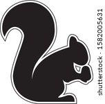 Squirrel Logo Icon Designs....