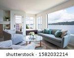 Luxury Interior Sitting Room...