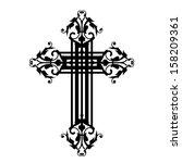 Illustration Of Vintage Cross