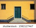 a closeup shot of an entrance... | Shutterstock . vector #1582127467