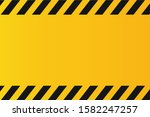 yellow and black police... | Shutterstock .eps vector #1582247257