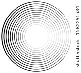 lines in circle form . spiral... | Shutterstock .eps vector #1582291534