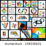 extreme collection of 25... | Shutterstock .eps vector #158230631