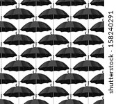 seamless pattern with  black... | Shutterstock .eps vector #158240291