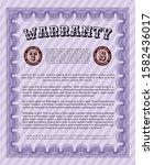 violet retro warranty...   Shutterstock .eps vector #1582436017