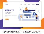 flat design website development ...