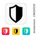 shield icon. vector...