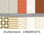simple geometric texture.... | Shutterstock .eps vector #1582841071