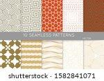 simple geometric texture.... | Shutterstock .eps vector #1582841071