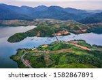 Aerial View Of Nam Ka Lake ...