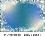 winter background with... | Shutterstock .eps vector #1582915657