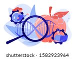 scientists working with... | Shutterstock .eps vector #1582923964
