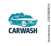 car wash for logo template | Shutterstock .eps vector #1582980814