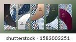 vector set packaging templates... | Shutterstock .eps vector #1583003251