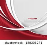 vector wave  abstract background | Shutterstock .eps vector #158308271