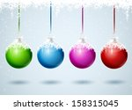 set of different colored... | Shutterstock .eps vector #158315045