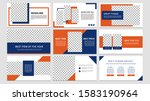 sale template collection for... | Shutterstock .eps vector #1583190964