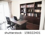 Modern Home Office With...