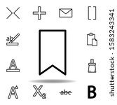 bookmark icon. can be used for...